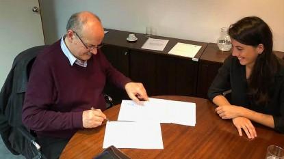 Luis di giácomo, firma