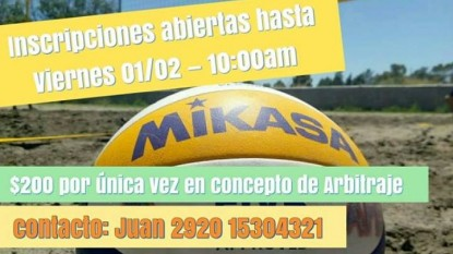 torneo beach voley