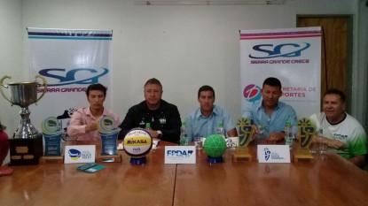 Beach Handball, conferencia
