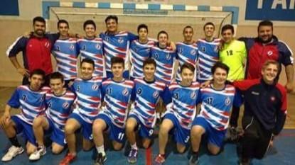 equipo handball