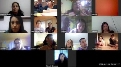 Programa Familia Solidaria, taller virtual