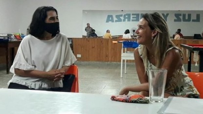 vanessa cacho, Carla Gaudensi