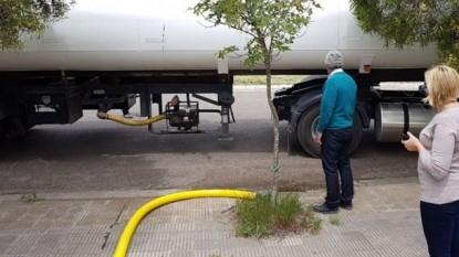 camion, stroeder, agua, CISTERNA