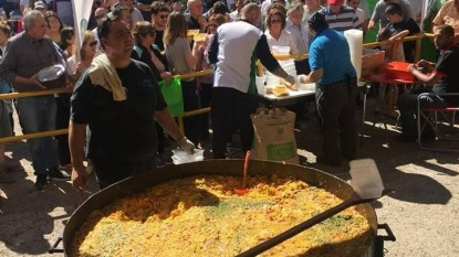 Sandro fogel, paella gigante