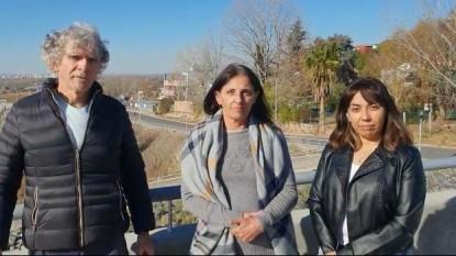 laura santillan, Norma Dardik, Armando Aligia