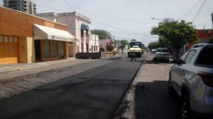 pavimento, calle alvaro barros, reasfaltado