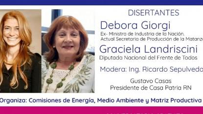 DEBORA GIORGI, Graciela Landriscini