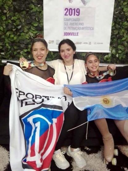 deportivo viedma, patin, Dana Baigorria, Victoria Tapia