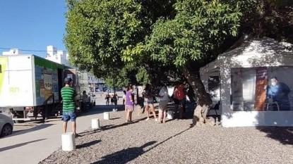 Las Grutas, hisopados