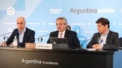 RODRIGUEZ LARRETA, ALBERTO FERNANDEZ, axel kicillof