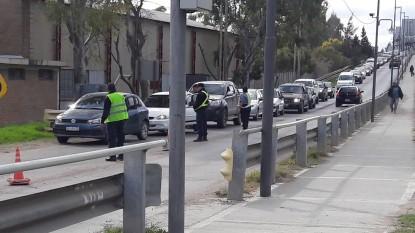 policia, puente ferrocarretero, Daiana Ginaro