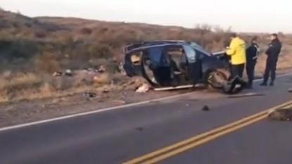 ruta 22, accidente fatal