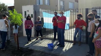 barrio san martin, dia de la memoria, arbol