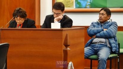 juicio, silvia vazquez colque, Marcos Thola