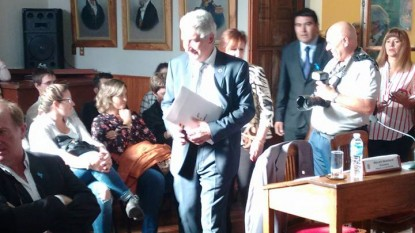 JOSE LUIS ZARA, Concejo Deliberante, PATAGONES, apertura, sesiones