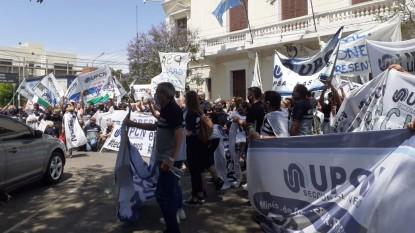 upcn, movilizacion, marcha, PROTESTA, reclamo