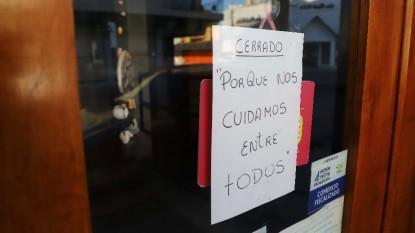 comercio, cerrado, pandemia