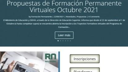 formación docente virtual
