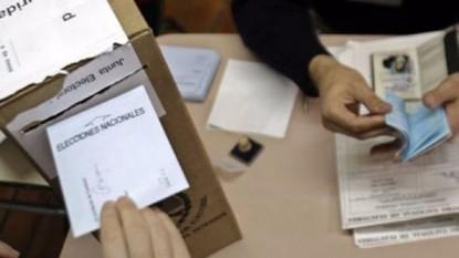 elecciones, urna, AUTORIDAD, mesa, escrutinio