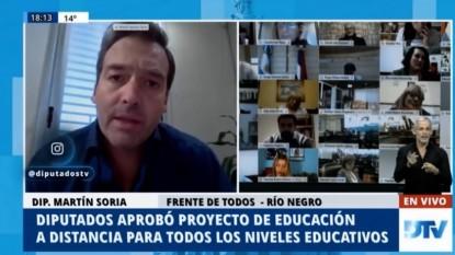 Martin Soria, sesion virtual