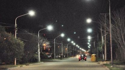 avenida don bosco viedma iluminacion