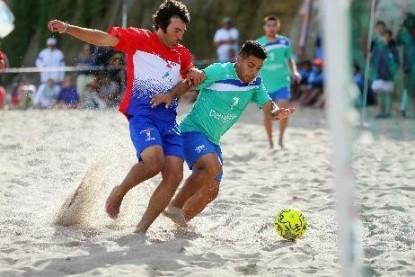 deporte, futbol playa
