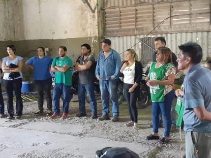 CINCO SALTOS, ATE, Salarios