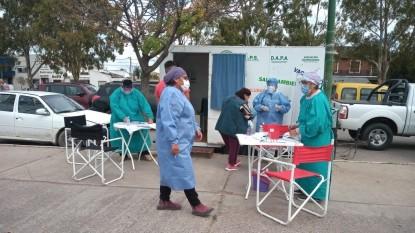 hisopados, personal de salud, FERIA MUNICIPAL