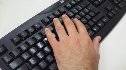 carta de lectores, teclado