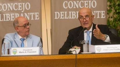 viedma, jose luis foulkes, Concejo Deliberante, MARIO ALBERTO FRANCIONI, apertura de sesiones