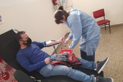 reservas de sangre
