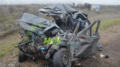 accidente fatal, coronel belisle