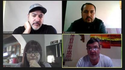 rodolfo aguiar, Rodrigo Vicente, MARCELO NERVI, SANDRA SCHIERONI