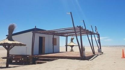 el condor, refugio, energia solar