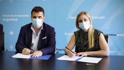 MARIA EMILIA SORIA, firma, Darío Martínez