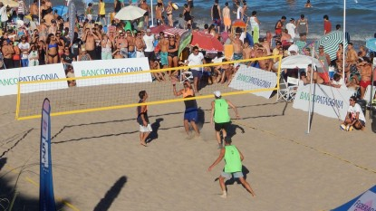 Las Grutas, beach voley