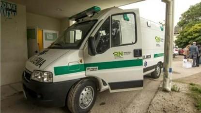 general roca, ambulancia