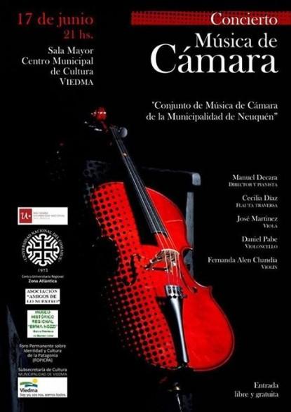 concierto, musica, camara