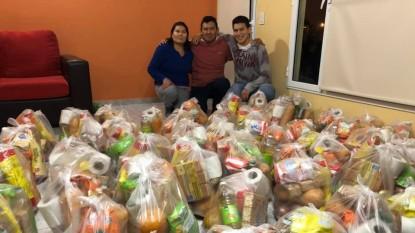 despensa normi, donacion, modulos, alimentos