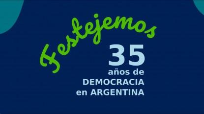 35 años, democracia