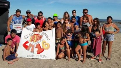 playa, chicos, ecos