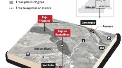 bajo trapalco, mapa 3d