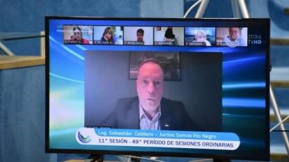 sesion, legislatura, Sebastián Caldiero