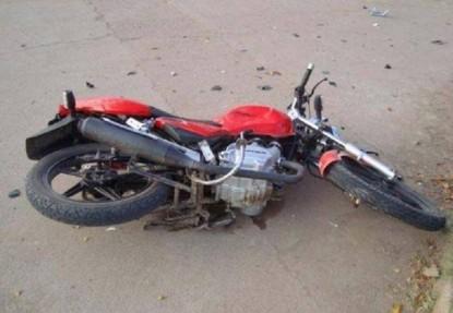motociclista, ACCIDENTE VIAL