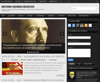 doctrina nacional socialista, antisemitismo