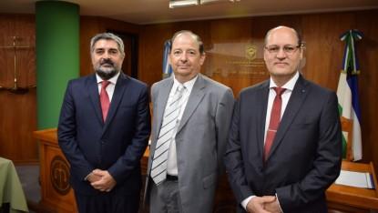 Miguel Cardella, Adrián Zimmermann, Mario Altuna