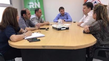 Gastón Pérez Estevan, reunión