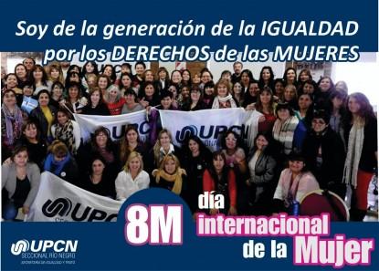 upcn, dia internacional de la mujer