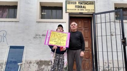 marta velazquez, Carlos Gastiarena, jubilados, obra social, servicio penitenciario federal
