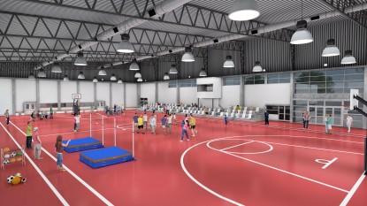 universidad nacional de río negro, proyecto, polideportivo